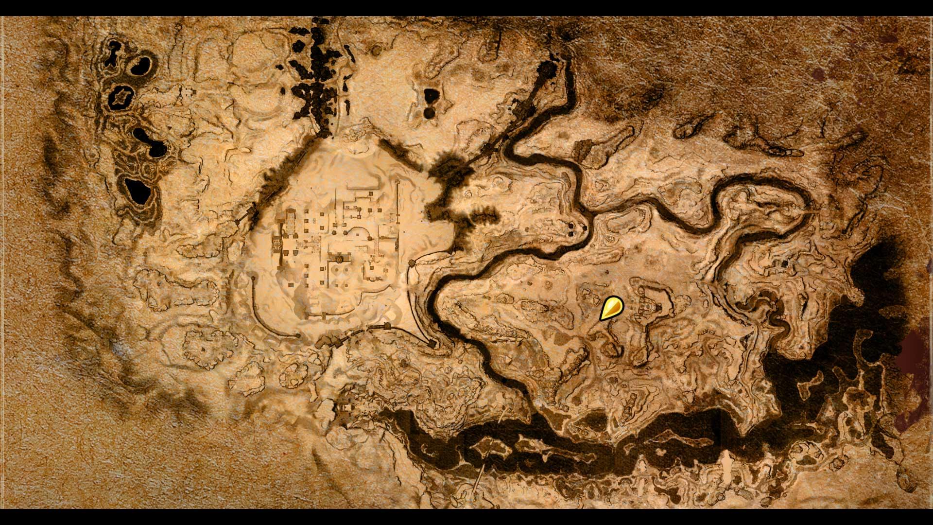Conan Exiles Eisen Map