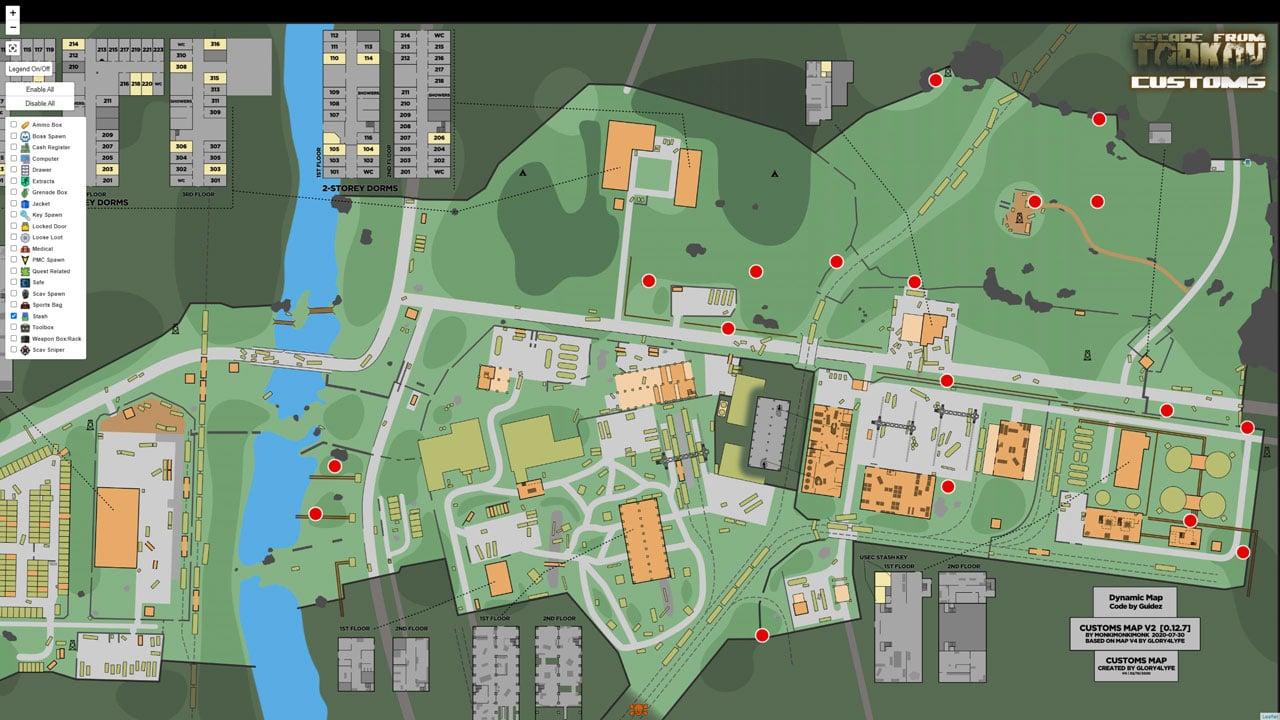 tarkov-costums-map-stashes