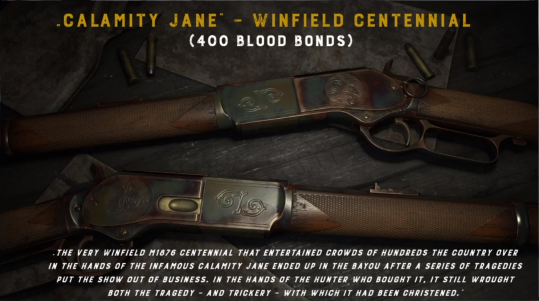 hunt showdown winfield 1876 centennial