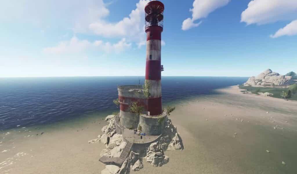 Rust-keycard-leuchturm-lighthouse