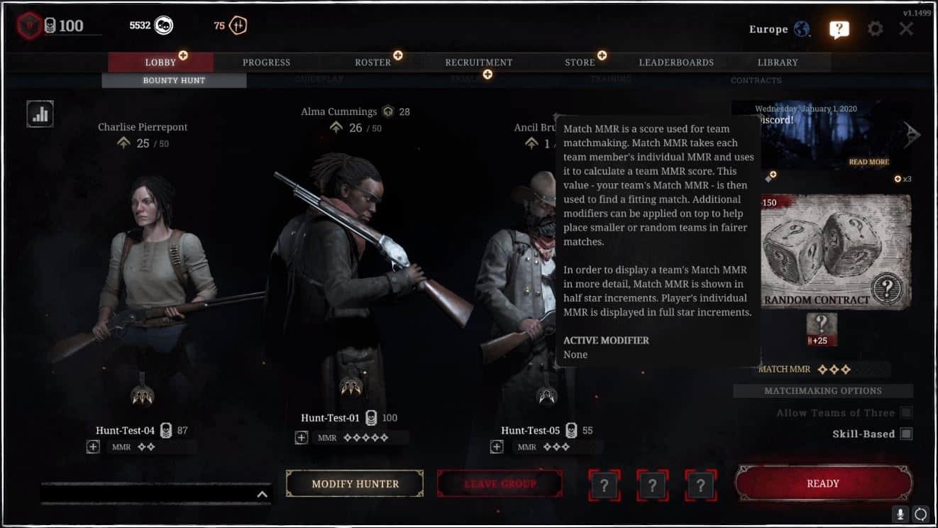 hunt-showdown-update-1.6-matchmaking
